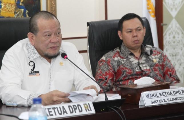 Antisipasi Pelambatan Ekonomi Global, Ketua DPD Kumpulkan Ketum KADIN se-Indonesia