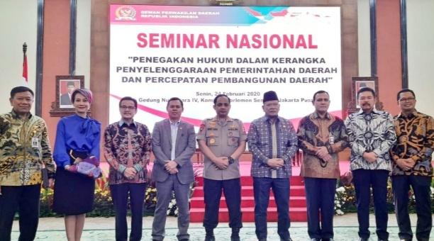 DPD: Terhambatnya Pembangunan di Daerah Akibat Biasnya Memahami Regulasi
