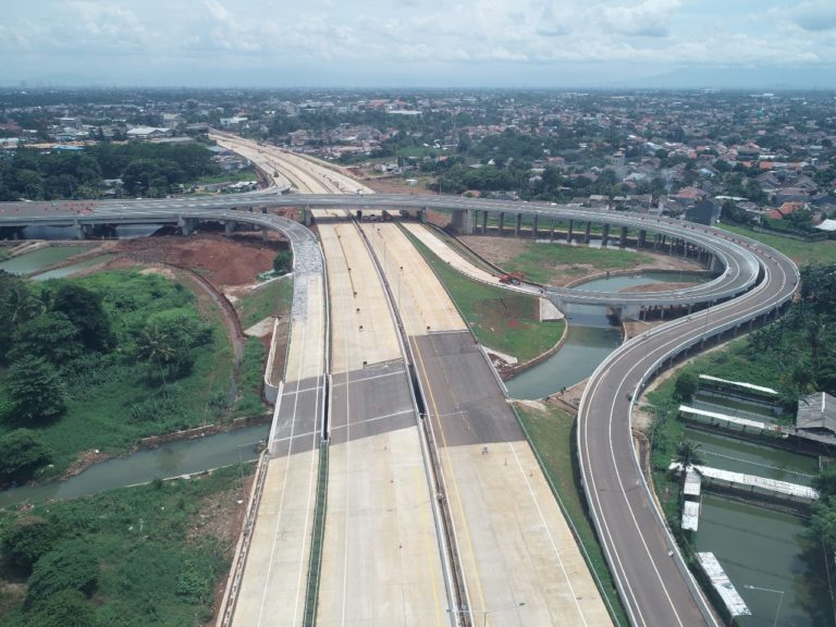 Jalan Tol Serpong-Cinere Ditargetkan Beroperasi Sebelum Lebaran 2020