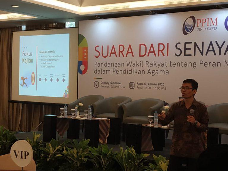Temuan LPPIM UIN Jakarta, Pemberian Wawasan Kebangsaan dan Keragaman Masih Kurang