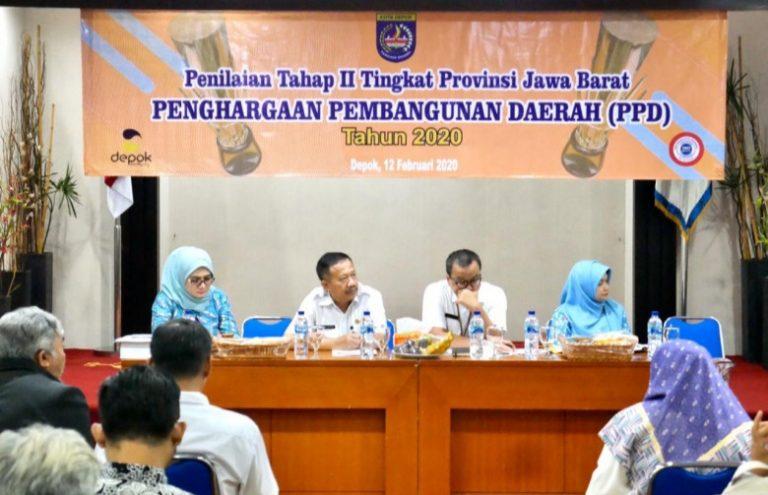Pemkot Depok Targetkan Raih Penghargaan PPD hingga Tingkat Nasional