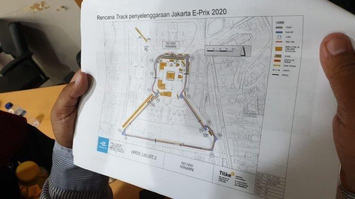 Bulan Depan, PT Jakpro Akan Mulai Lakukan Pengaspalan Sirkuit Formula E