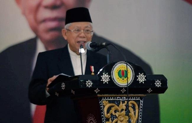 Ma'ruf Amin: Indonesia Harus Jadi Eksportir Produk Halal Terbesar di Pasar Dunia