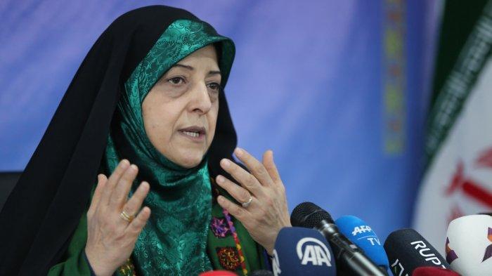Wakil Presiden Iran Mashoumeh Ebtekar Terjangkit Virus Corona