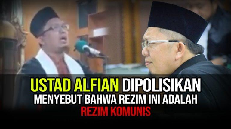 Tuding Pemerintah  Rezim Komunis, Ustad Alfian Tanjung kembali Dipolisikan