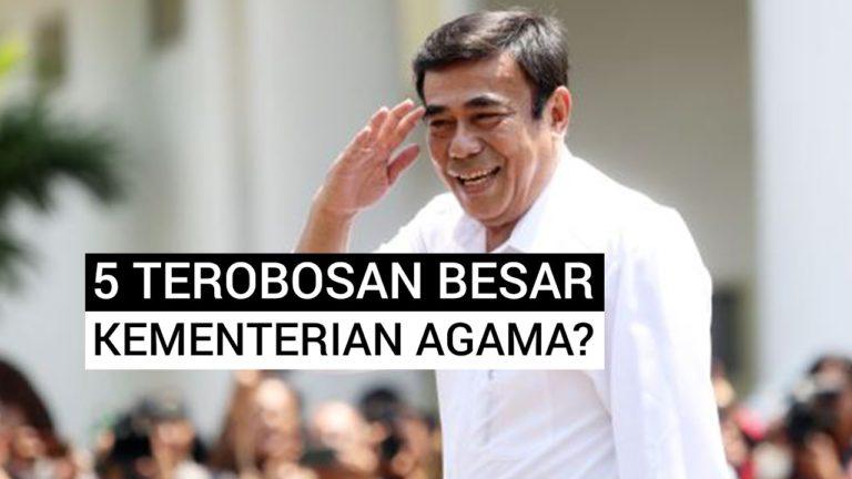 Menteri Agama Fachrul Razi Beberkan Lima Terobosan 100 Hari Kerja