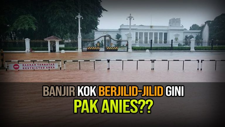 Banjir Kepung Jakarta hingga Masuk Istana
