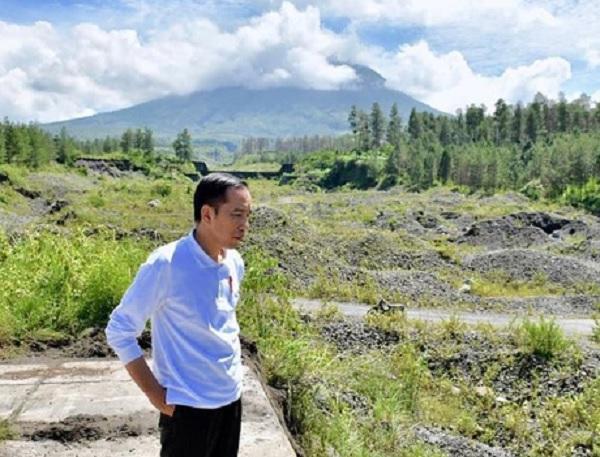 Jokowi Kenalkan Sabo Dam Kali Putih, Pengendali Lahar Dingin Gunung Merapi