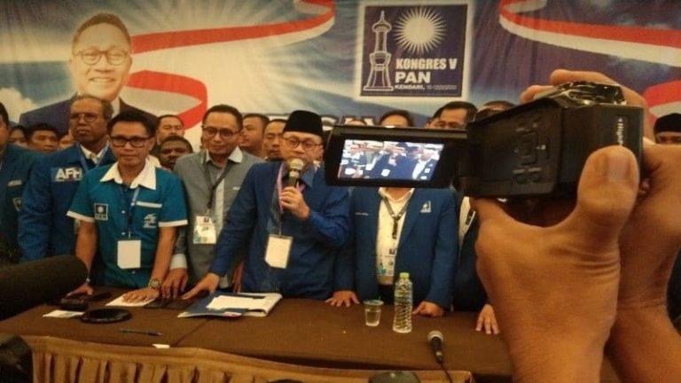 Zulhas Kembali Nahkodai PAN, Pengamat: Berpeluang Dapat Kursi di Kabinet Jokowi-Ma'ruf