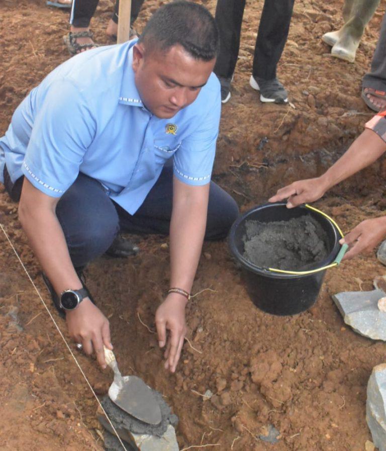 Groundbreaking Pembangunan Hunian Tetap Korban Bencana Longsor Sukajaya Bogor