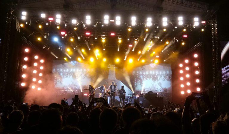 Si Cadas Scorpion Tampil Tidak Garang di JogjaROCKarta Music Festival