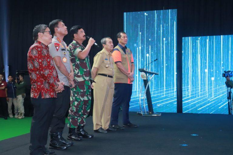 Panglima TNI dan Kapolri Launching Aplikasi Lancang Kuning