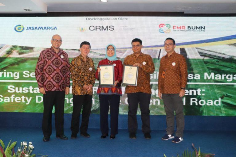 Jasa Marga Group Peroleh Dua Sertifikat Green Toll Road Indonesia