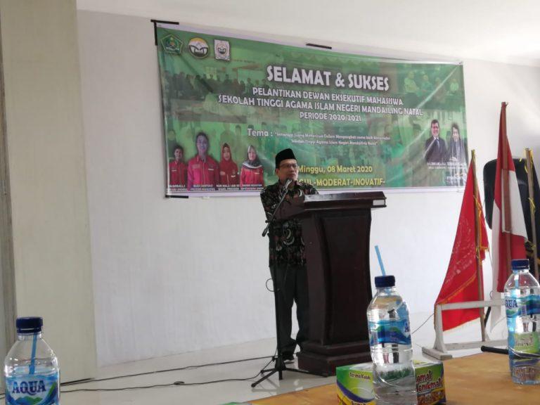 Ketua STAIN Madina Ajak Organisasi Mahasiswa Sinergi Kembangkan Kampus