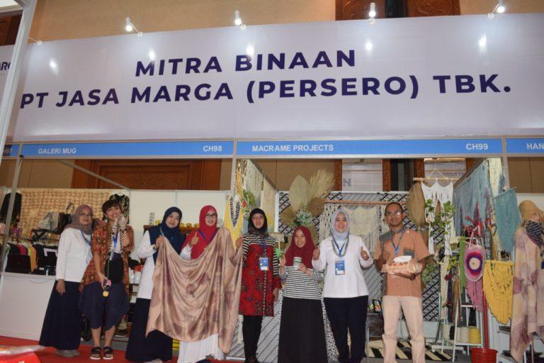 Jasa Marga Boyong Empat UKM Binaan Mejeng di Pameran Indocraft