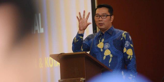 Ridwan Kamil Instruksikan Seluruh Siswa Belajar di Rumah