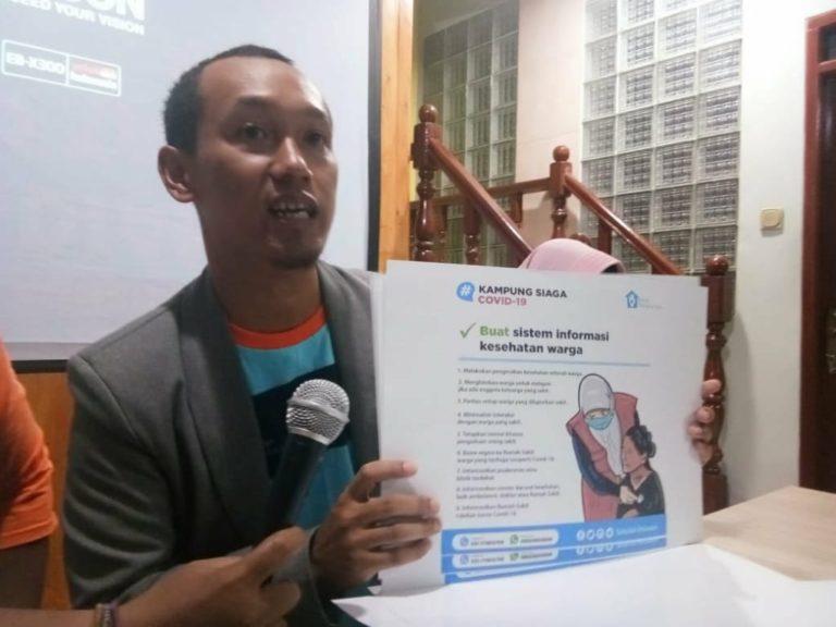 Sekolah Relawan Bersama Pemkot Depok Sosialisasi Kampung Siaga Covid-19