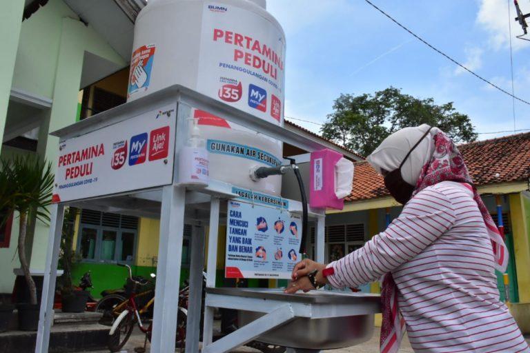 Pertamina Tangkal Penyebaran COVID-19 di Indramayu