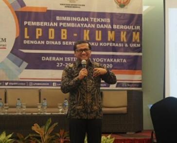 Tingkatkan Kualitas Pembuatan Proposal, LPDB-KUMKM Gelar Pelatihan