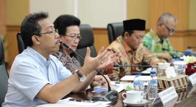 Lakukan Pengawasan, Senator Provinsi DIY Gelar Raker Dengan BPS