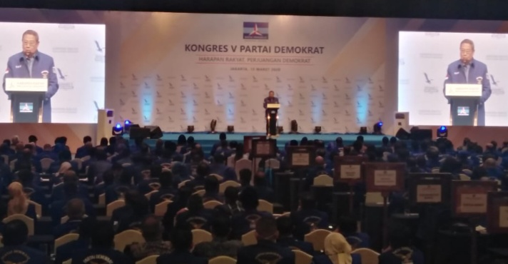 Hadiri Kongres, SBY Dijadwalkan Sampaikan Pidato Politik Terakhir