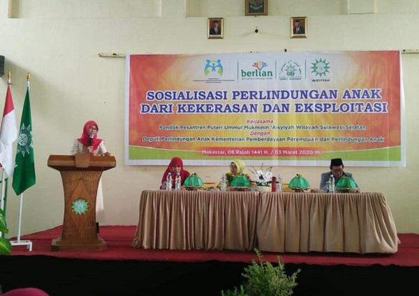 Stafsus KPPPA Dorong Pesantren jadi Lembaga Pendidikan Ramah Anak