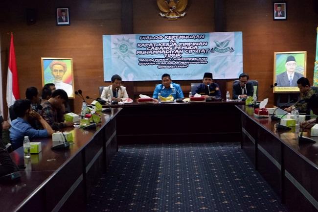 Gelar Dialog OKP, Pemuda Muhammadiyah Ajak Tanamkan Nilai-nilai Islami