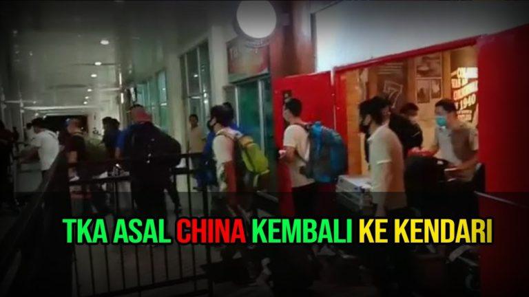 Viral Kedatangan TKA China ke Kendari; Polisi Ciduk Pembuat Video
