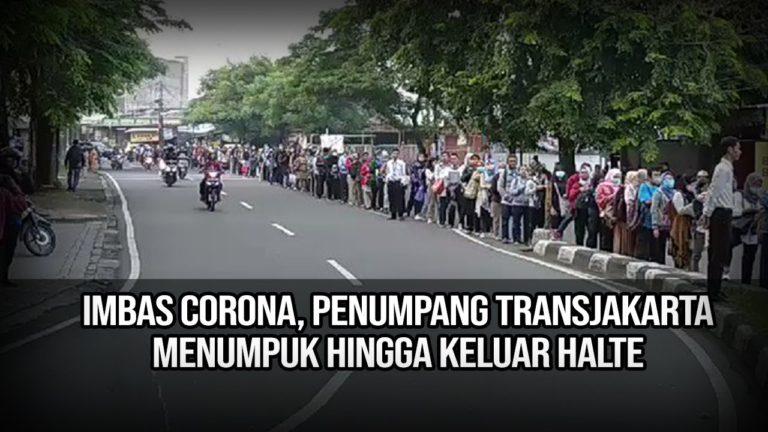 Operasional MRT dan TransJakarta Dibatasi, Penumpukan Penumpang Tak Terkendali