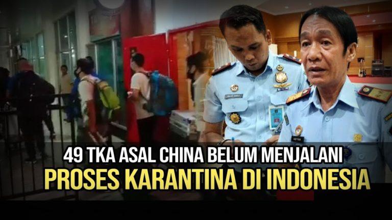Kedatangan 49 TKA Asal China di Kendari Ternyata Bukan dari Jakarta