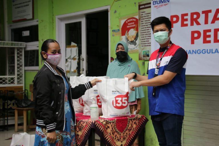 Pertamina Berdayakan Mitra Binaan Bantu Masyarakat Terdampak COVID-19