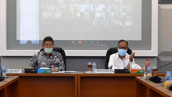 Kemenperin Minta Pemda Dukung Industri Tetap Produktif di Tengah Pandemi Covid-19