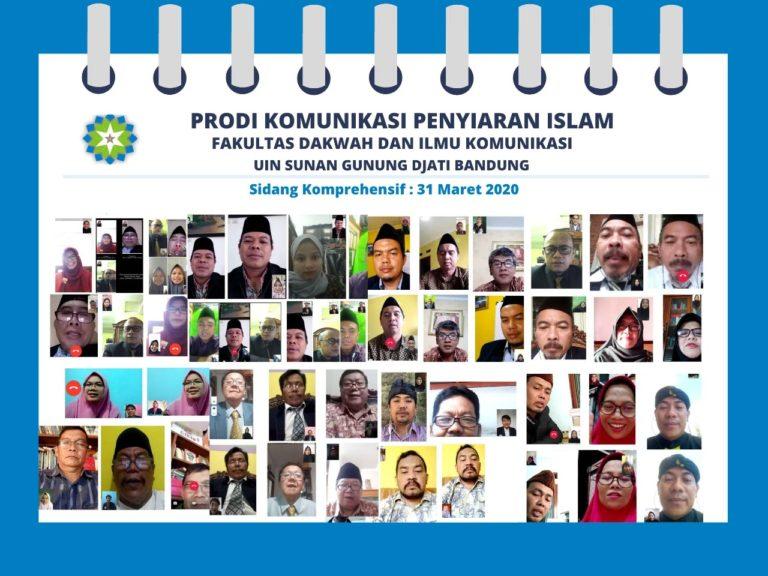 UIN Bandung Gelar Ujian Komprehensif Secara Online
