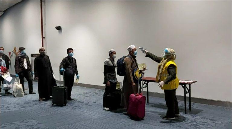 Tiba di Jakarta, Jemaah Umrah Diperiksa sesuai Protokol Kesehatan Bandara