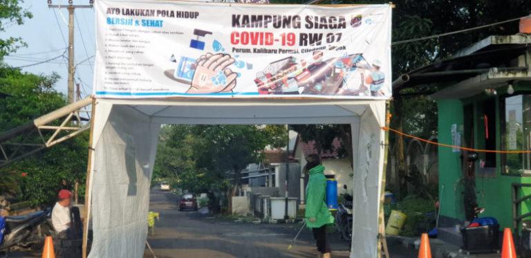 Pemkot Depok Kembangkan Inovasi Pembatasan Sosial Kampung Siaga Covid-19