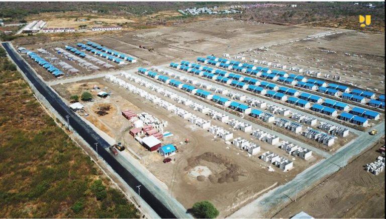 Pembangunan 630 Unit Huntap Pascabencana di Sulteng Ditargetkan Rampung Mei 2020