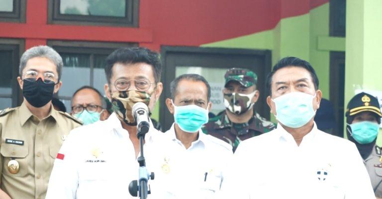 Kementan Beri Kemudahan Akses Pangan Bagi Masyarakat di Tengah Pandemi Covid-19