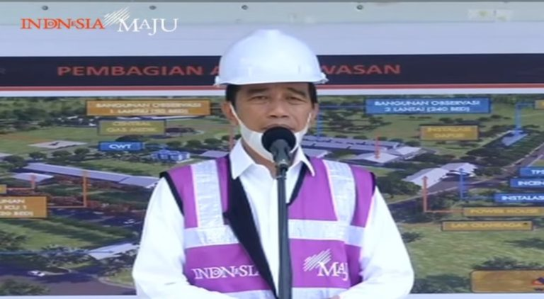 Tinjau RS Darurat Corona di Pulau Galang, Jokowi: Kita Berharap Tidak Dipakai