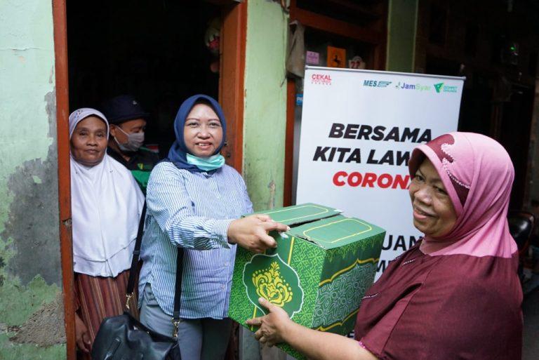 Dompet Dhuafa-Jamkrindo Serahkan 1000 Paket Sembako untuk Masyarakat Terdampak Covid-19