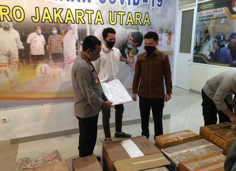 Polisi Jakut Dapat Bantuan APD dari Anggota DPRD DKI Jakarta, Ini Kata Kapolres