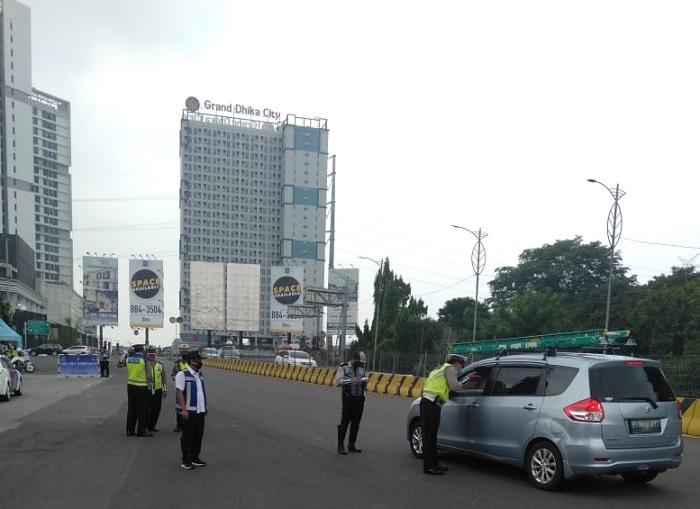 Tiga Hari Sejak Penerapan PSBB di Bekasi, Jumlah Pelanggar Tercatat Turun