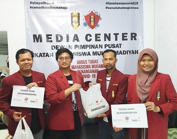 DPP IMM Salurkan Paket Sembako di Sejumlah Zona Merah Ibu Kota