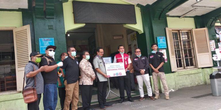 Efektif Cegah Corona, Pertamina Sebar Wastafel Portable di Pasar Tradisional Kota Semarang