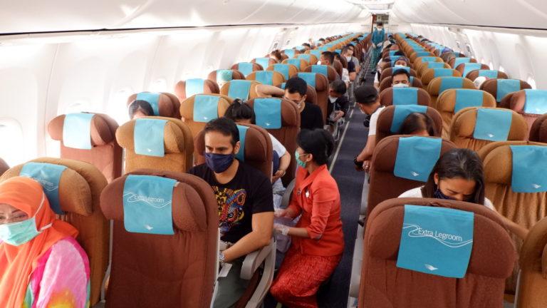 Garuda Indonesia Pastikan Pelayanan Penumpang Sesuai Protokol Kesehatan