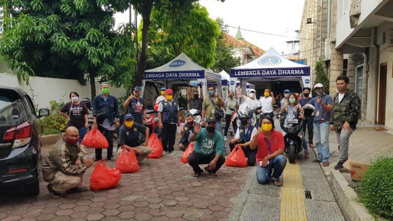 Keuskupan Jakarta Bagikan 37.000 Makanan Siap Saji untuk Pekerja Terdampak Covid-19
