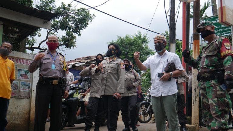 Bersama Jamkrindo, STIK-Polri Serukan Berbagi dan Saling Melindungi Tetangga