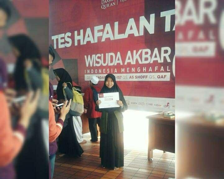 Cerita Ai Nurdianti, Hafidzah UIN Bandung yang Selalu Manfaatkan Waktu untuk Menghafal Al-Quran