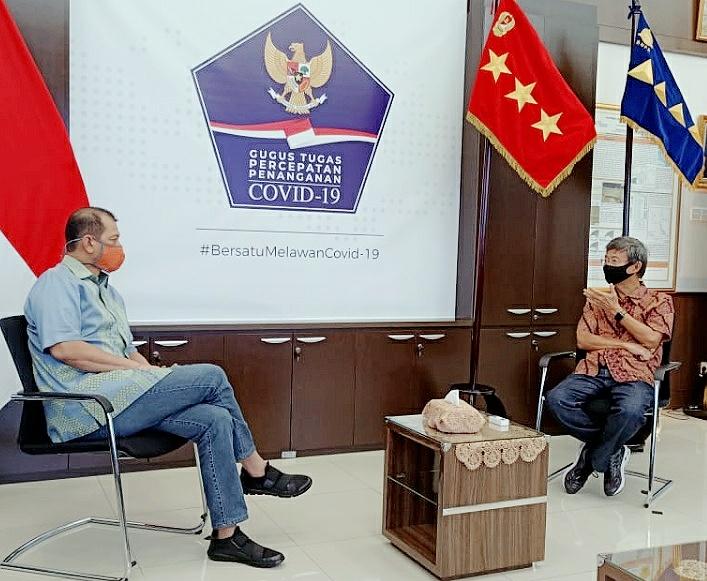 Letjen Doni Monardo Ultah ke-57, Founder Jababeka Group: Semoga Sukses Perang Lawan Covid-19