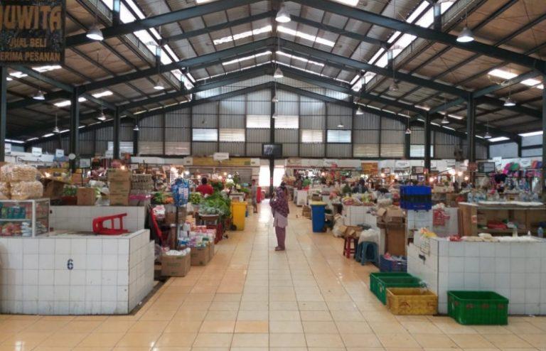 Pasar Sukatani Depok Kembali Beroperasi Pasca Ditemukan 1 Kasus Positif Covid-19