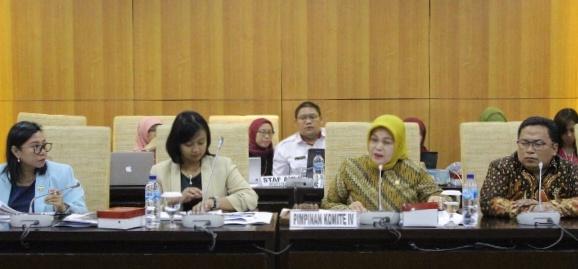 Komite IV DPD Akan Lakukan Pengawasan Kebijakan Relaksasi Kredit di Daerah